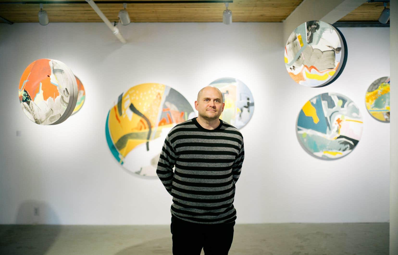 Montréal, ville peinture? Trevor Kiernander le croit. C'est ce qui l'a motivé à concevoir «Pictura». Pour proposer un «instantané» de ce qui se fait en peinture en ville.
