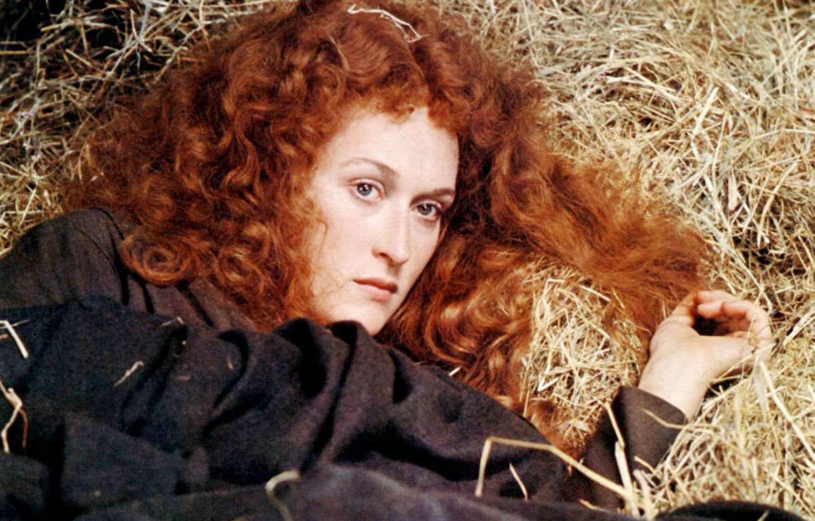 Scène tirée du film «The French Lieutenant's Woman» avec l'actrice Meryl Streep