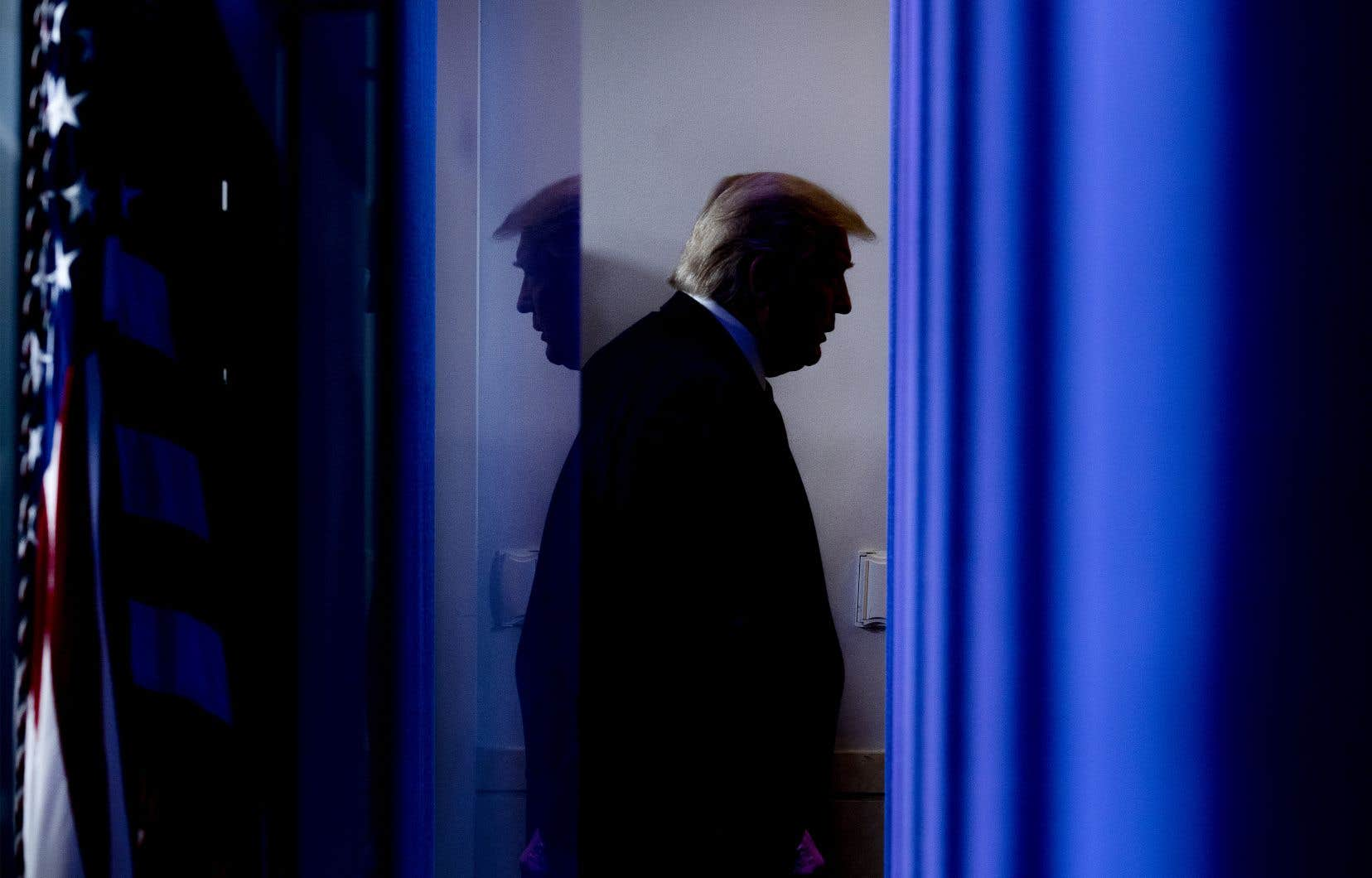 Maintenant qu'il a perdu le pouvoir, l'influence de Donald Trump au sein de la famille républicaine semble inégale.