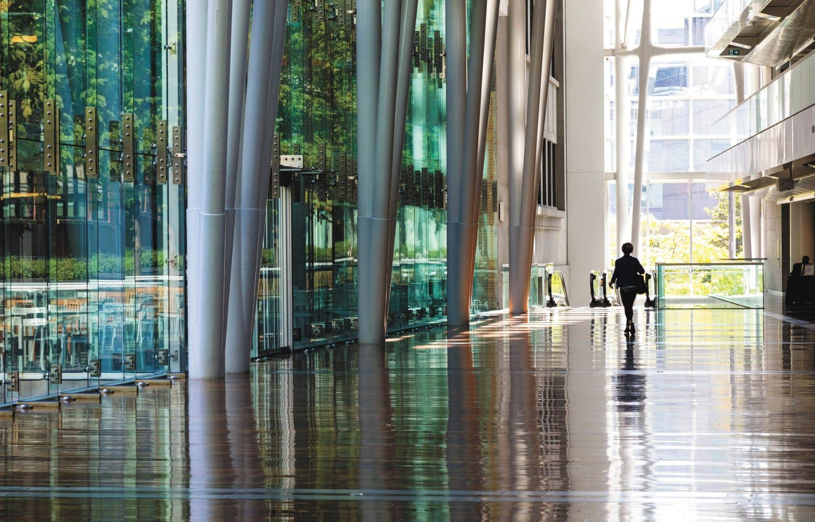 Avant la pandémie de COVID-19, le Palais des congrès de Montréal projetait de s'agrandir.