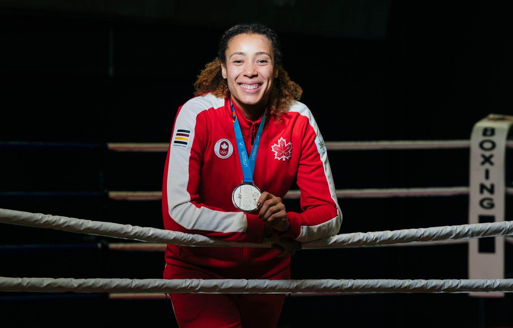La boxeuse Tammara Thibeault