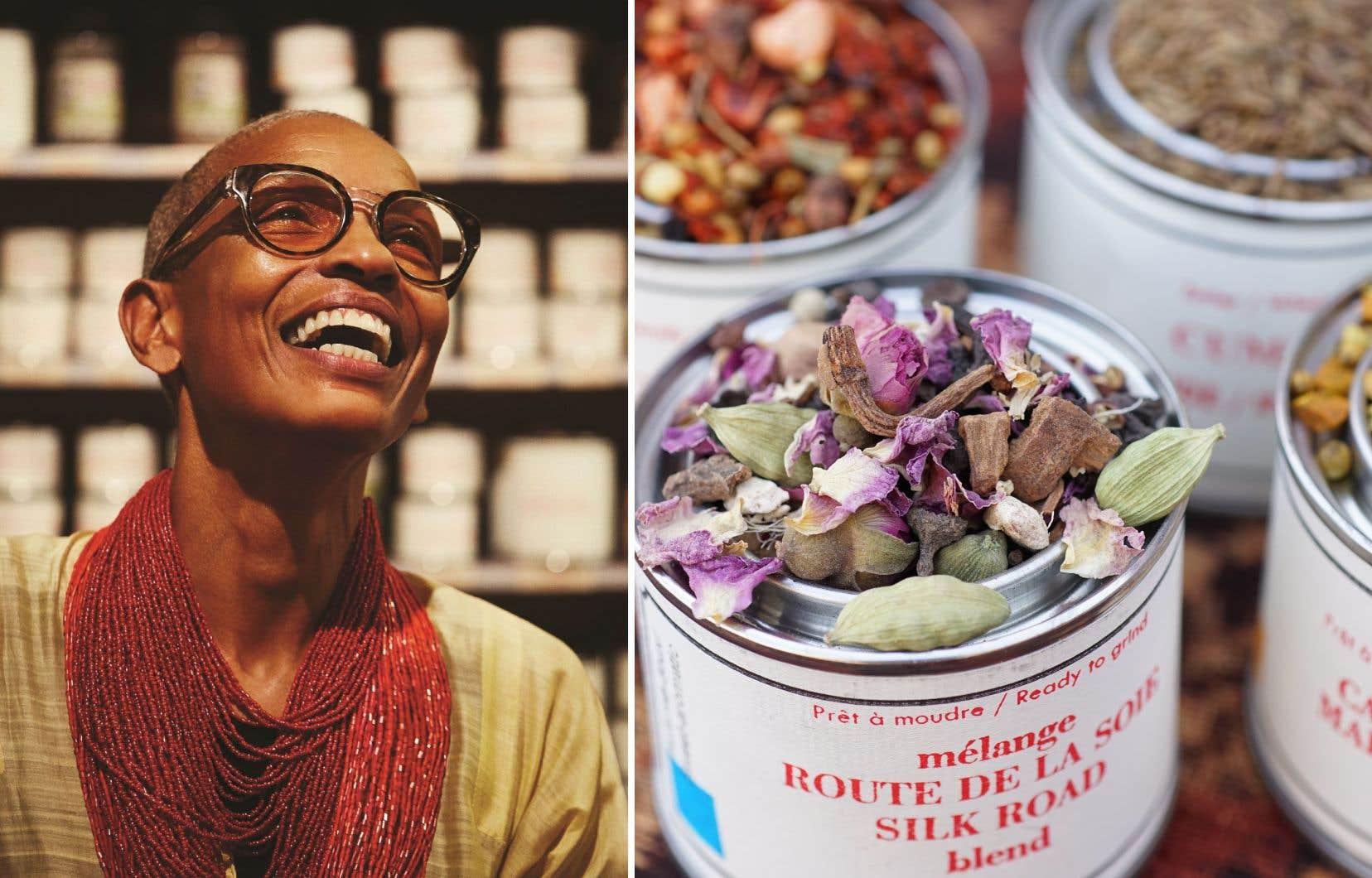 Selon Ethné de Vienne, copropriétaire d'Épices de cru, les épices prennent de plus en plus de place dans la cuisine de chez nous, même dans les plats traditionnels.