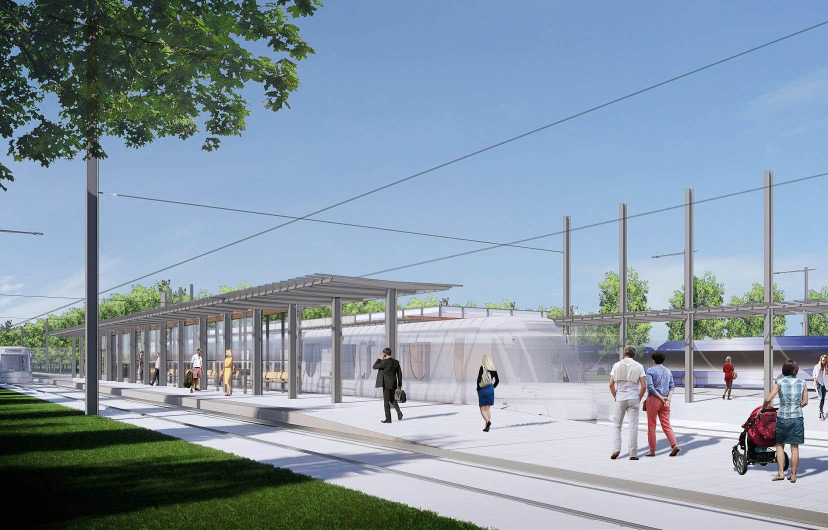 Le Bureau de projet du réseau structurant s'est défendu d'avoir misé sur le secteur Le Gendre comme terminus pour répondre aux intérêts de promoteurs immobiliers.