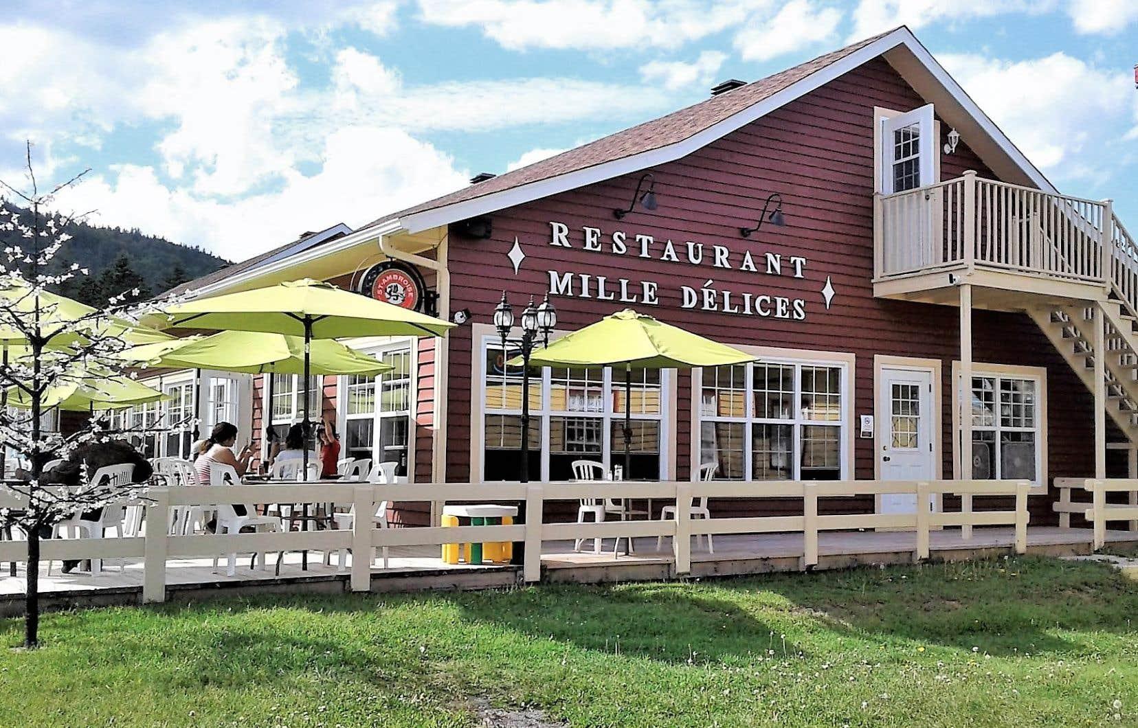 La Direction régionale de santé publique de la Gaspésie–Îles-de-la-Madeleine a suivi de près le restaurant Mille Délices, à Percé.