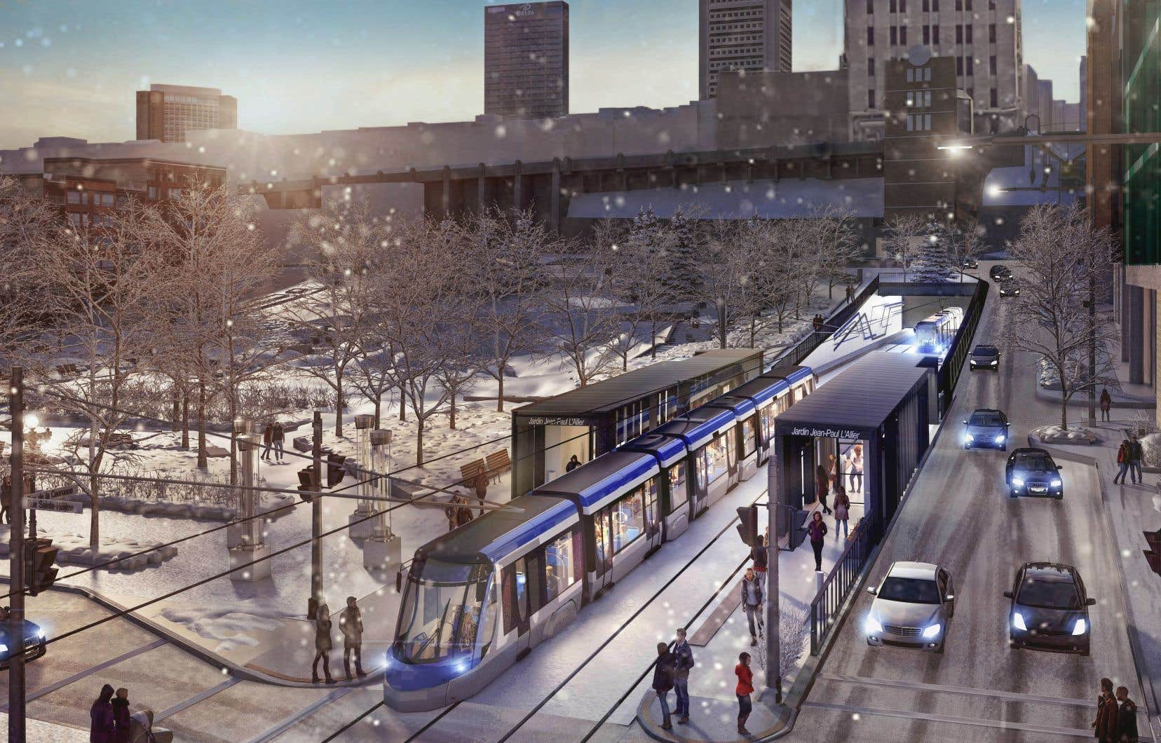 <p>La Ville de Québec souhaite convaincre des résidents de Cap-Rouge et Saint-Augustin-de-Desmaures de venir se stationner, le matin, à l'extrémité ouest du tracé, dans le secteur Legendre, pour ensuite monter dans le tramway vers le cœur de la ville.</p>