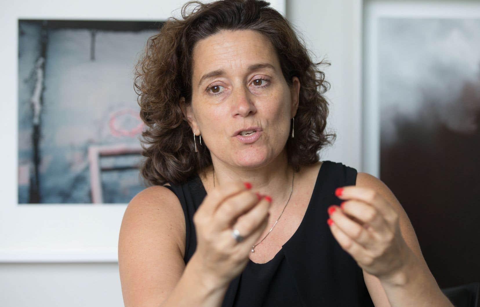 «L'augmentation des demandes [de financement] en 2020 depuis le début de la pandémie est de 106%», indique la directrice du CAM, Nathalie Maillé.
