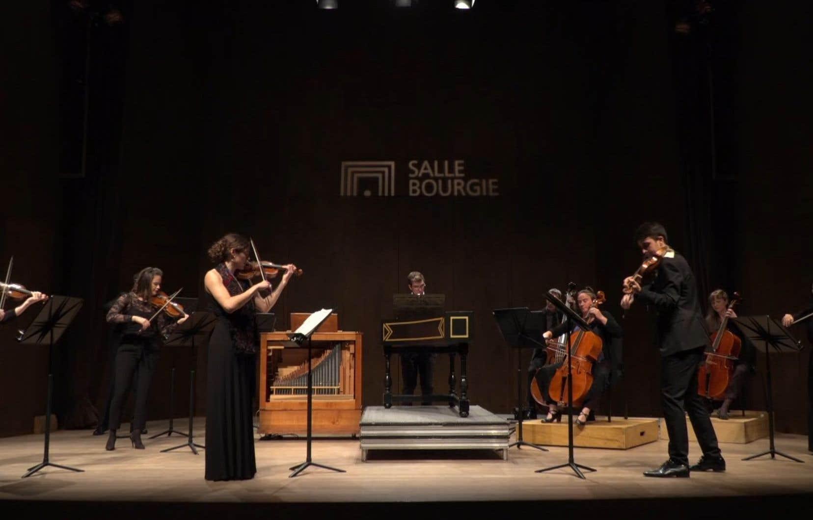 L'Orchestre baroque Arion a choisi l'option prudente: un enregistrement quelque temps avant diffusion permettant de livrer un produit ficelé.