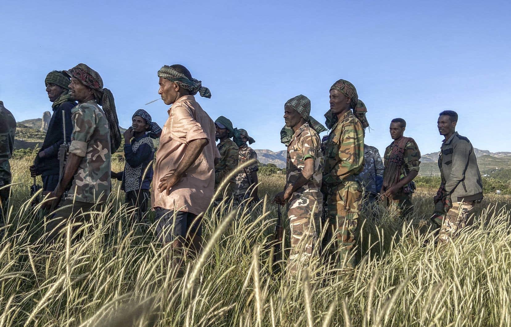 La télévision officielle tigréenne a affirmé de son côté que 10000 soldats de l'armée éthiopienne ont été capturés et que des villes qui étaient «aux mains» du pouvoir ont été reprises.