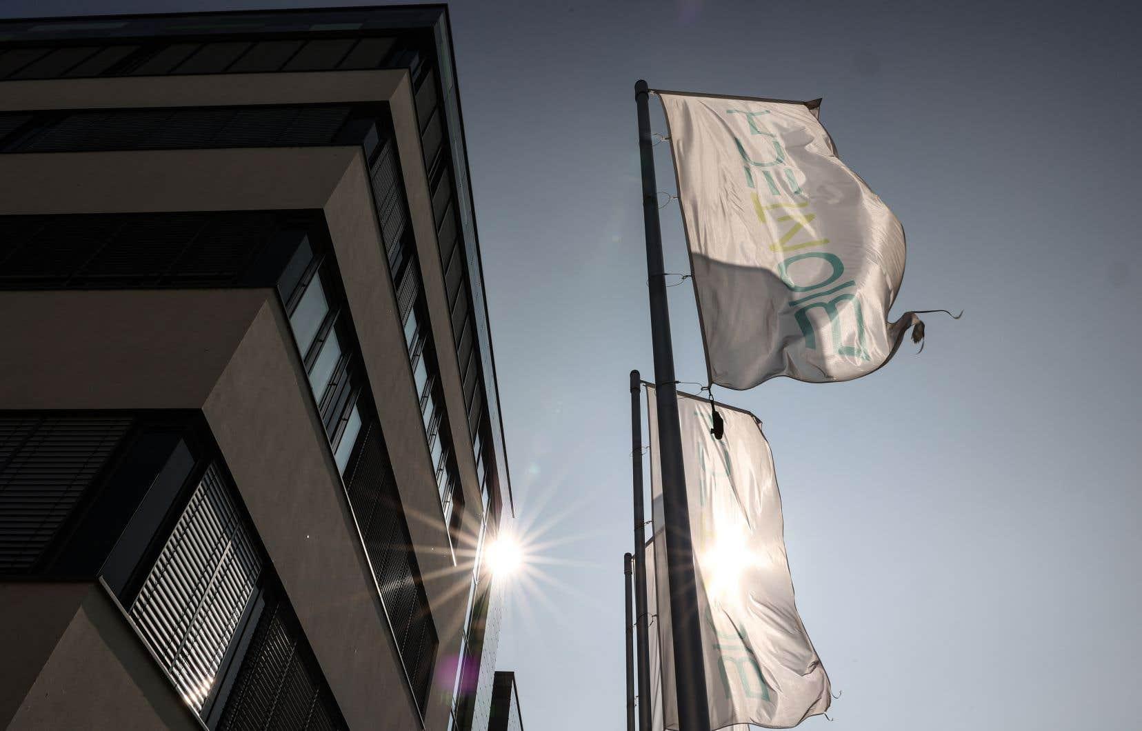 Le quartier général de BioNTech à Mayence, en Allemagne