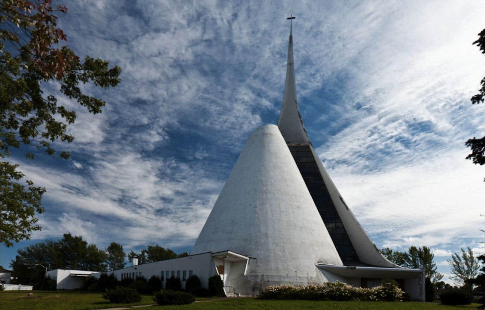 L'église Notre-Dame de Fatima à Saguenay