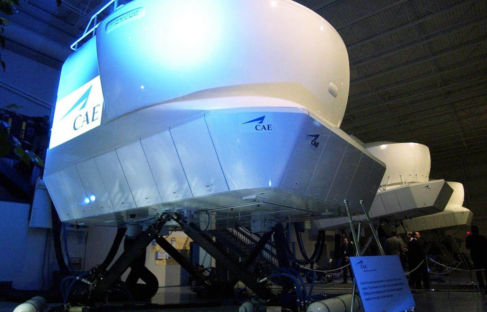 Flight Simulation Company possède déjà des simulateurs construits par CAE et offre entre autres des services aux compagnies aériennes et aux transporteurs de fret.