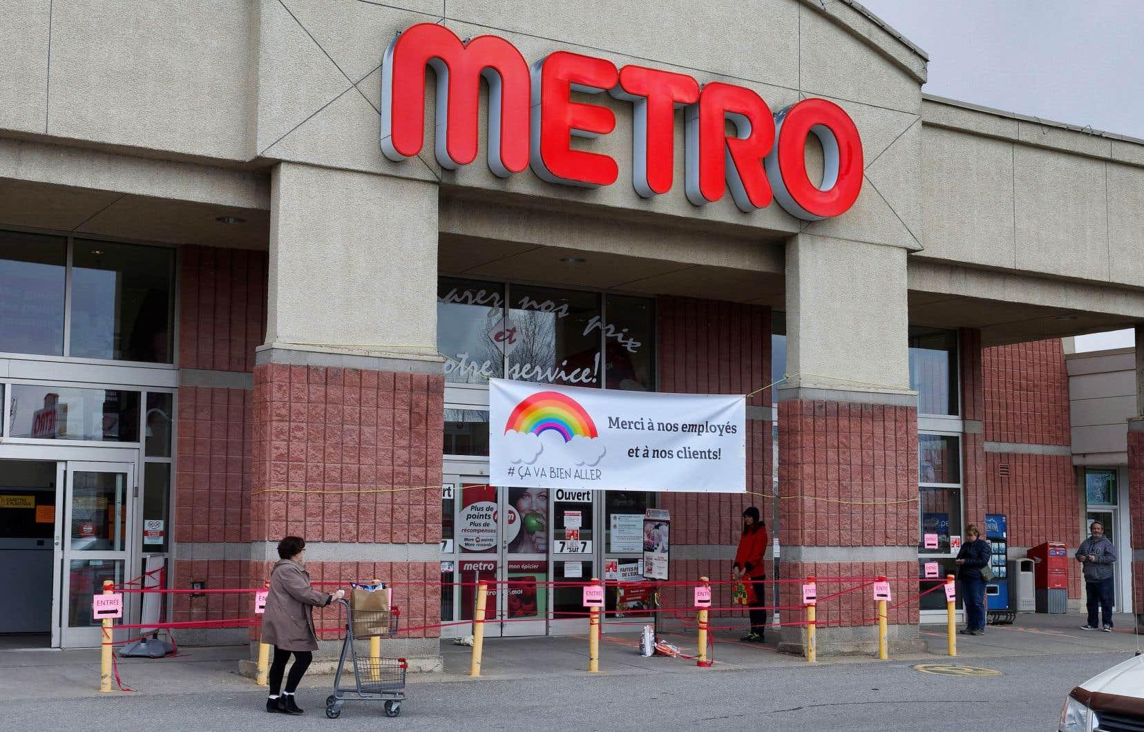 Metro s'attend à ce que ses revenus alimentaires continuent de croître à un rythme plus élevé qu'habituellement à court terme.