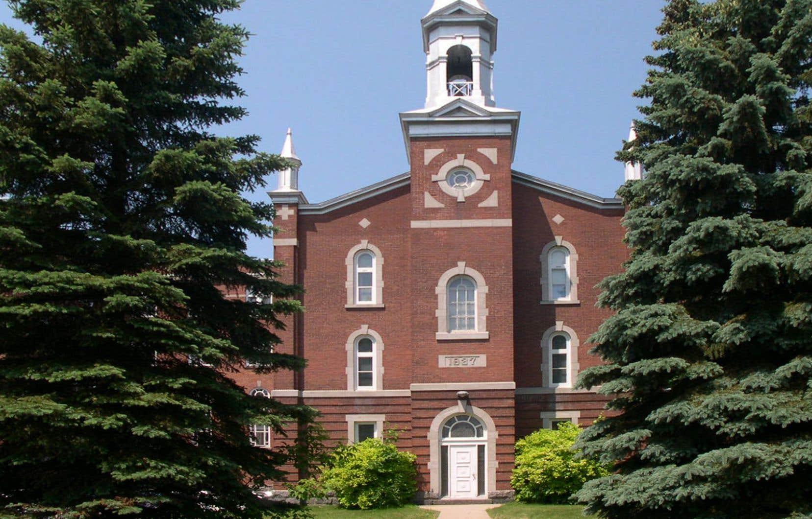 La chapelle conventuelle des Sœurs hospitalières de Victoriaville