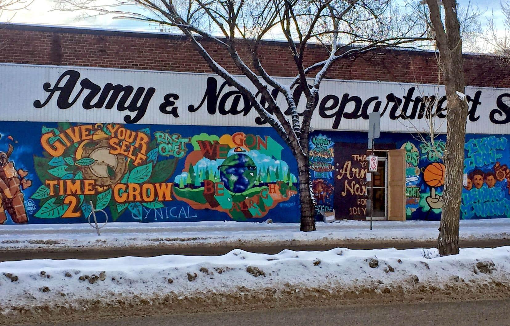 Le grand magasin Army & Navy a fermé ses portes en mai dernier, après plus de 100 ans d'activité.
