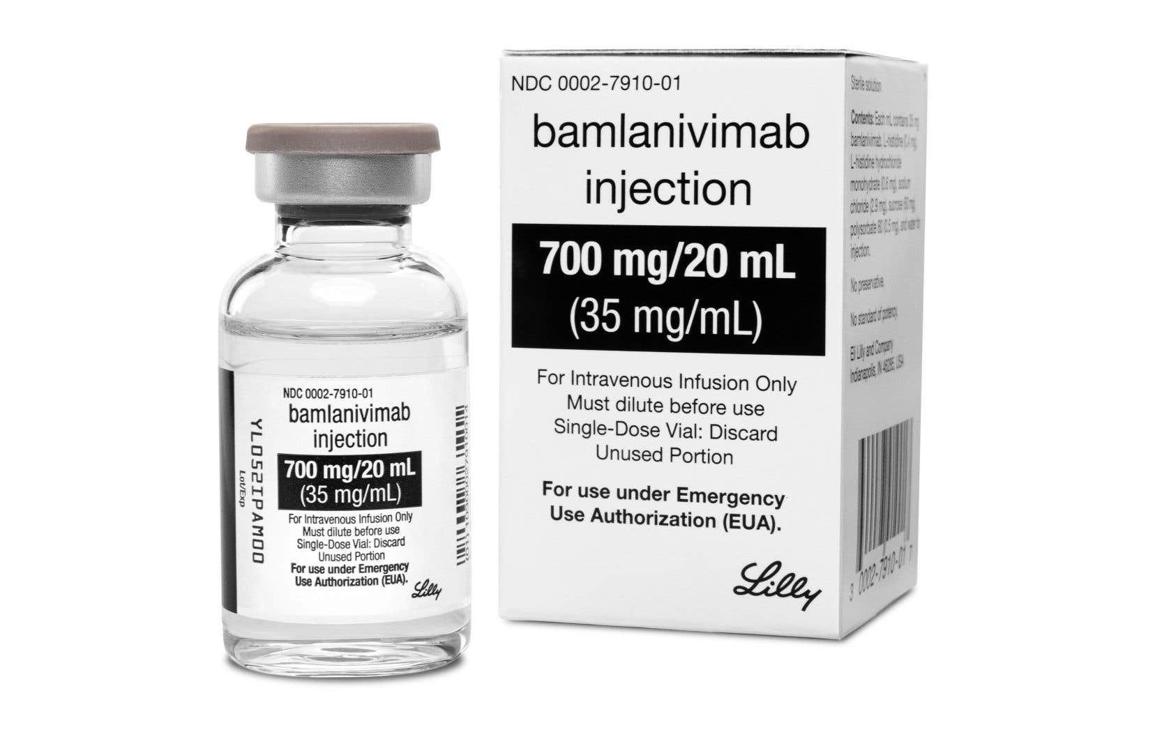 Washington a acheté 300 000 doses de bamlanivimab, à 1250$ chacune.