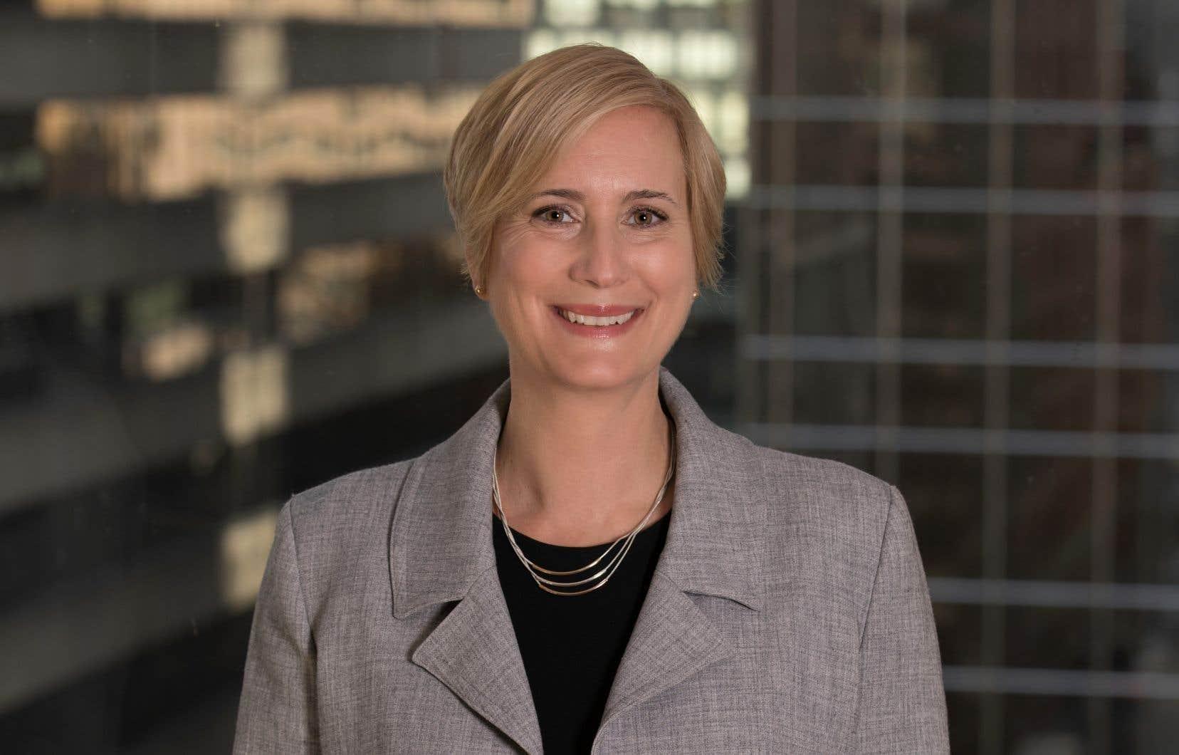 La présidente-directrice généralede l'IRSST, Lyne Sauvageau, espère favoriser un plus grand rayonnement des travaux de l'organisme auprès du public.