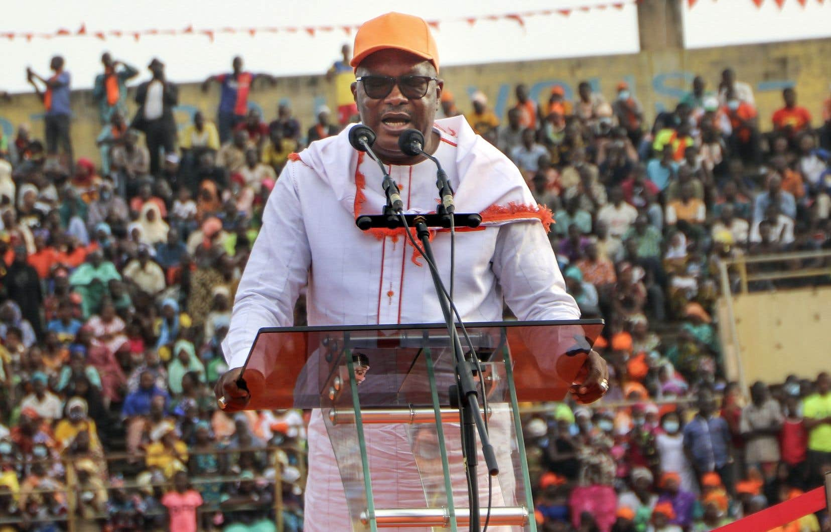Le président du Burkina Faso,Roch Marc Christian Kaboré
