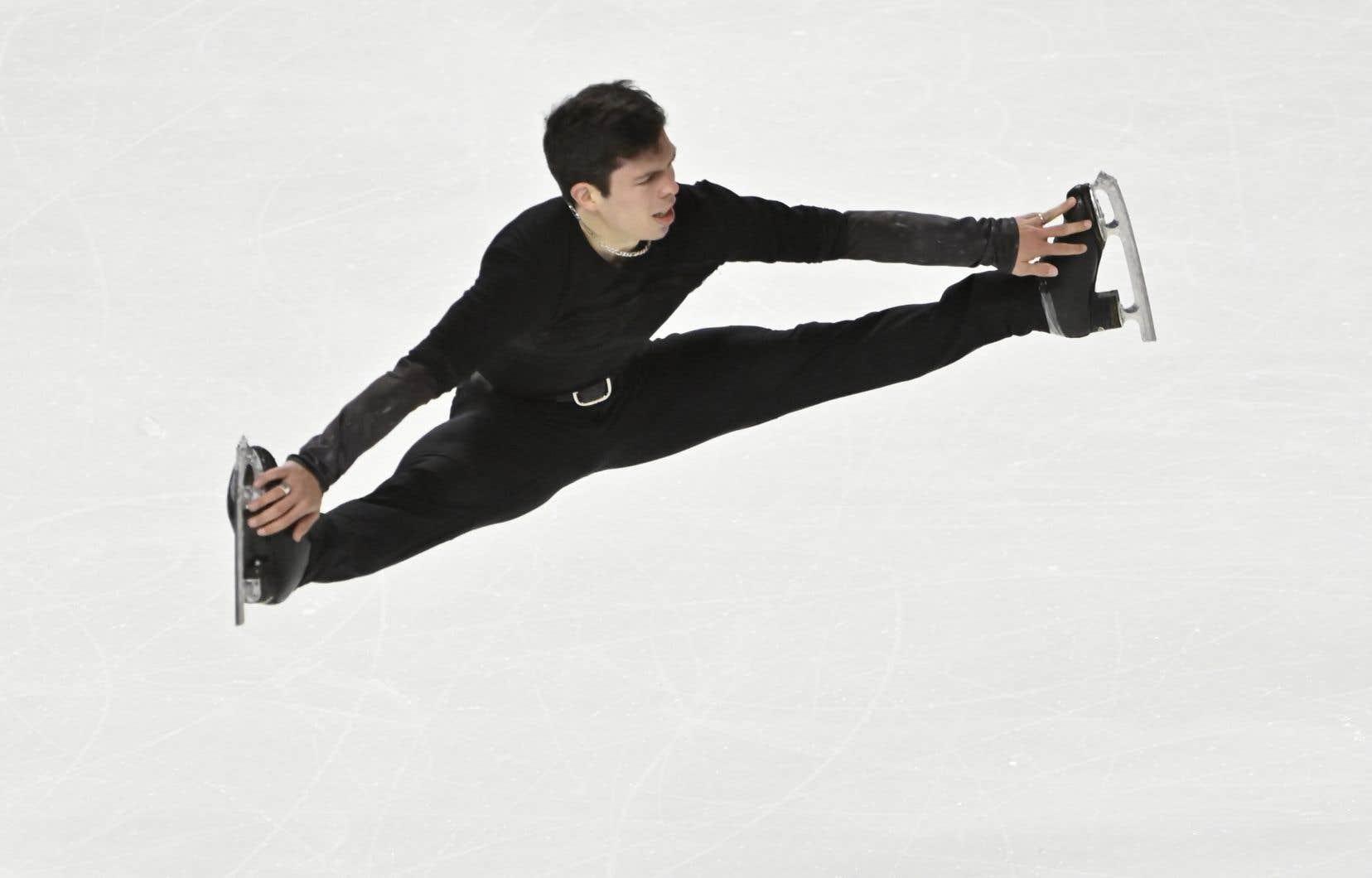 Keegan Messing, un patineur qui vit en Alaska, est le seul Canadien qui a pris part à des compétitions depuis le mois de février.