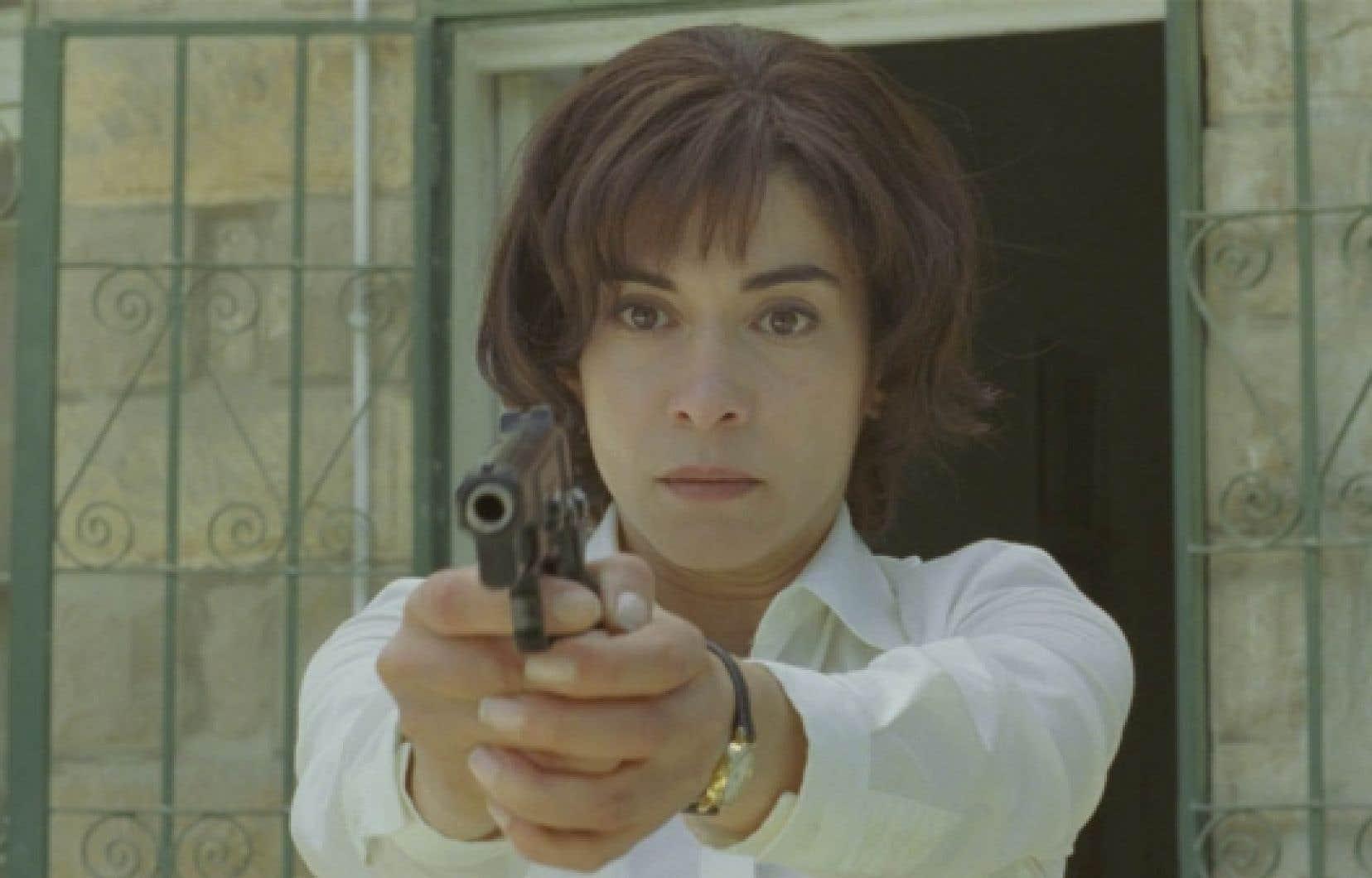 Lubna Azabal, si bouleversante dans le r&ocirc;le de la m&egrave;re dans Incendies, a remport&eacute; le G&eacute;nie de la meilleure actrice.<br />
