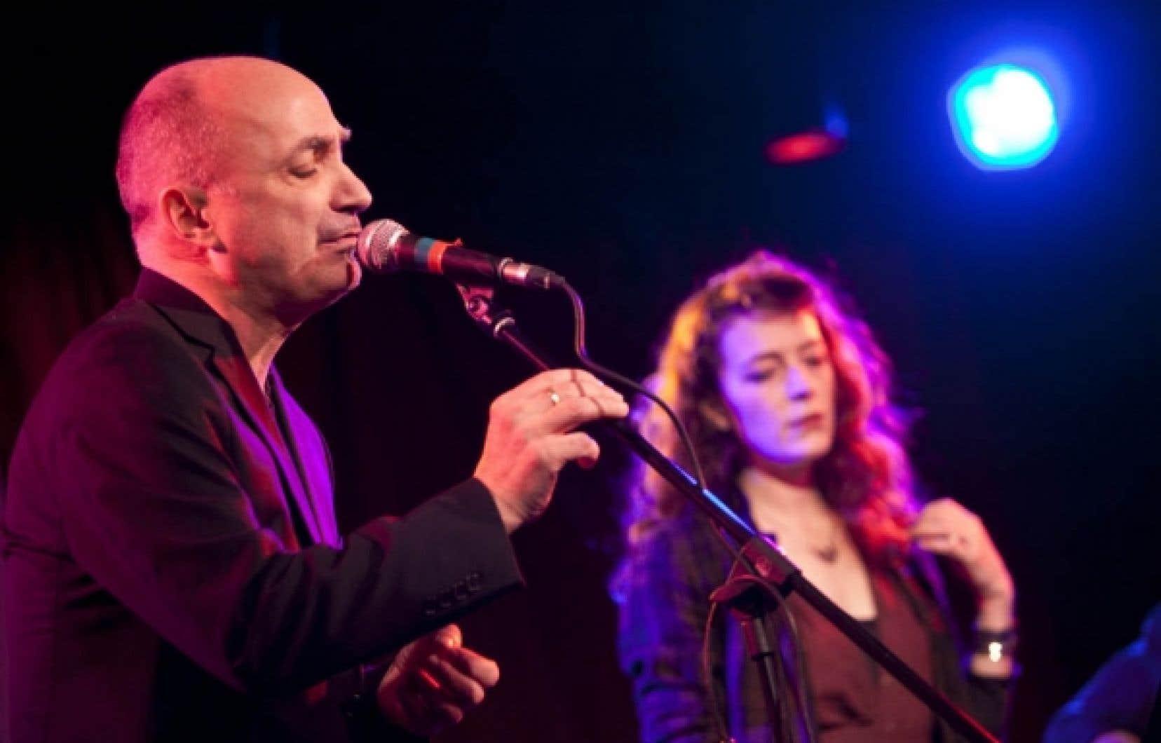 Michel Faubert et Melissa Auf der Maur, les invit&eacute;s d&rsquo;honneur du Festival Voix d&rsquo;Am&eacute;riques.<br />