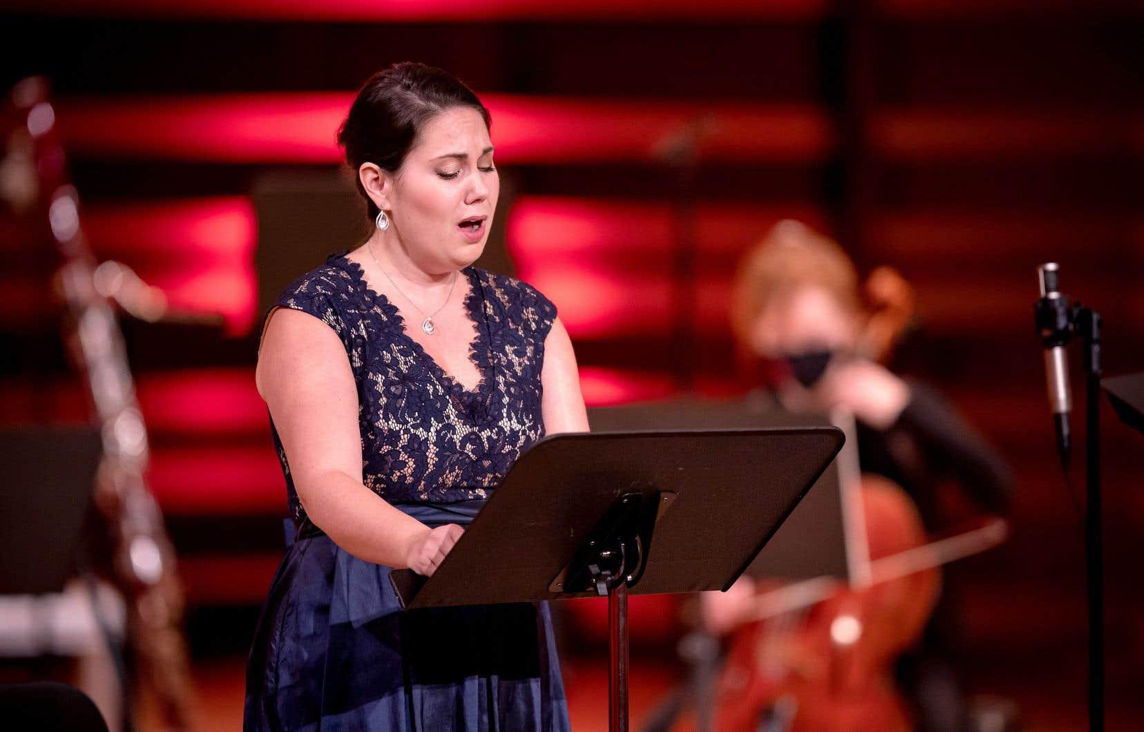 La soprano Myriam Leblanc