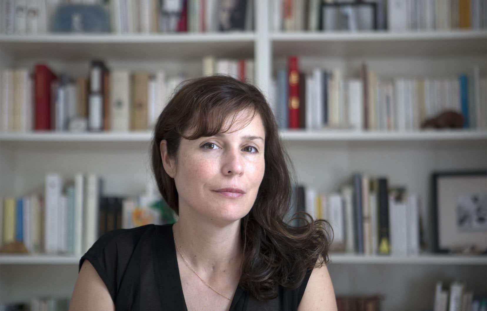 L'autrice québécoise Dominique Fortier