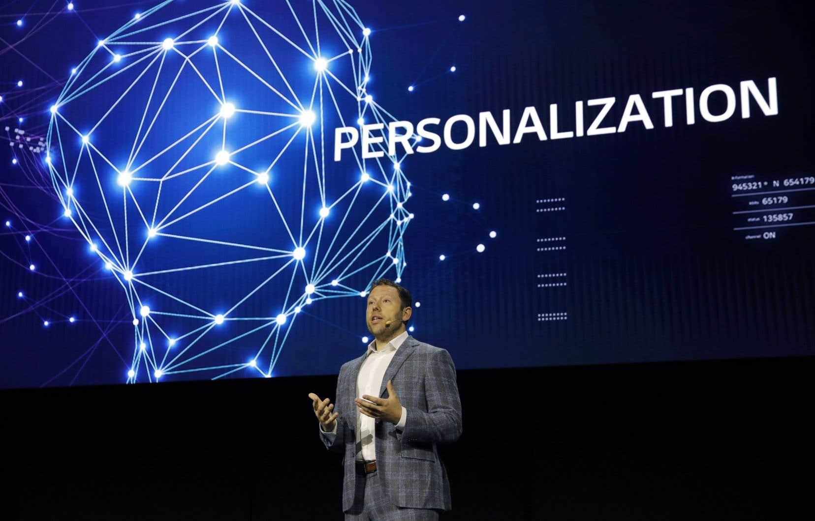 Element AI a été cofondée parJean-Francois Gagné (sur la photo) et Yoshua Bengio.