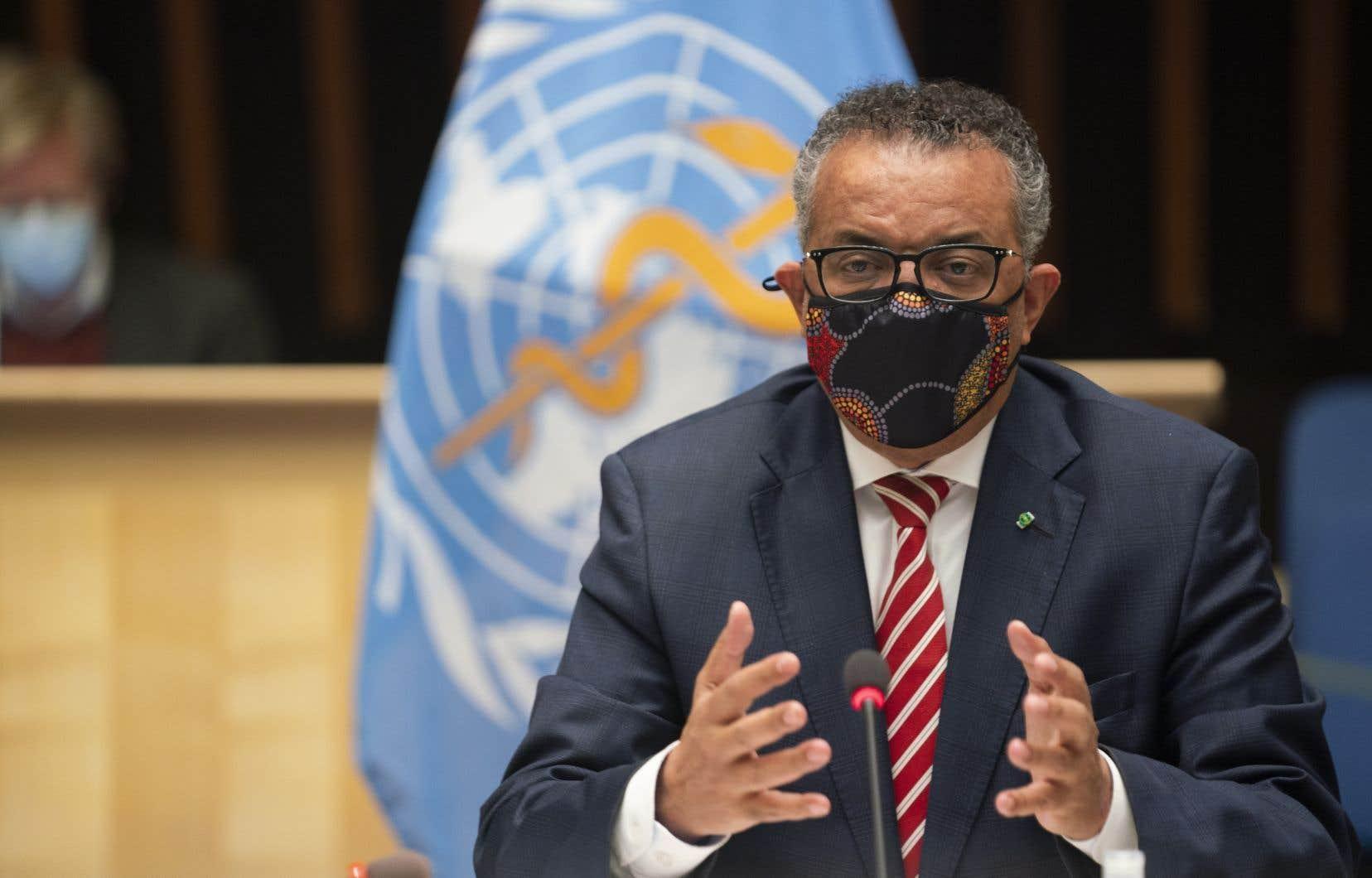 Le patron de l'OMS,Tedros Adhanom Ghebreyesus