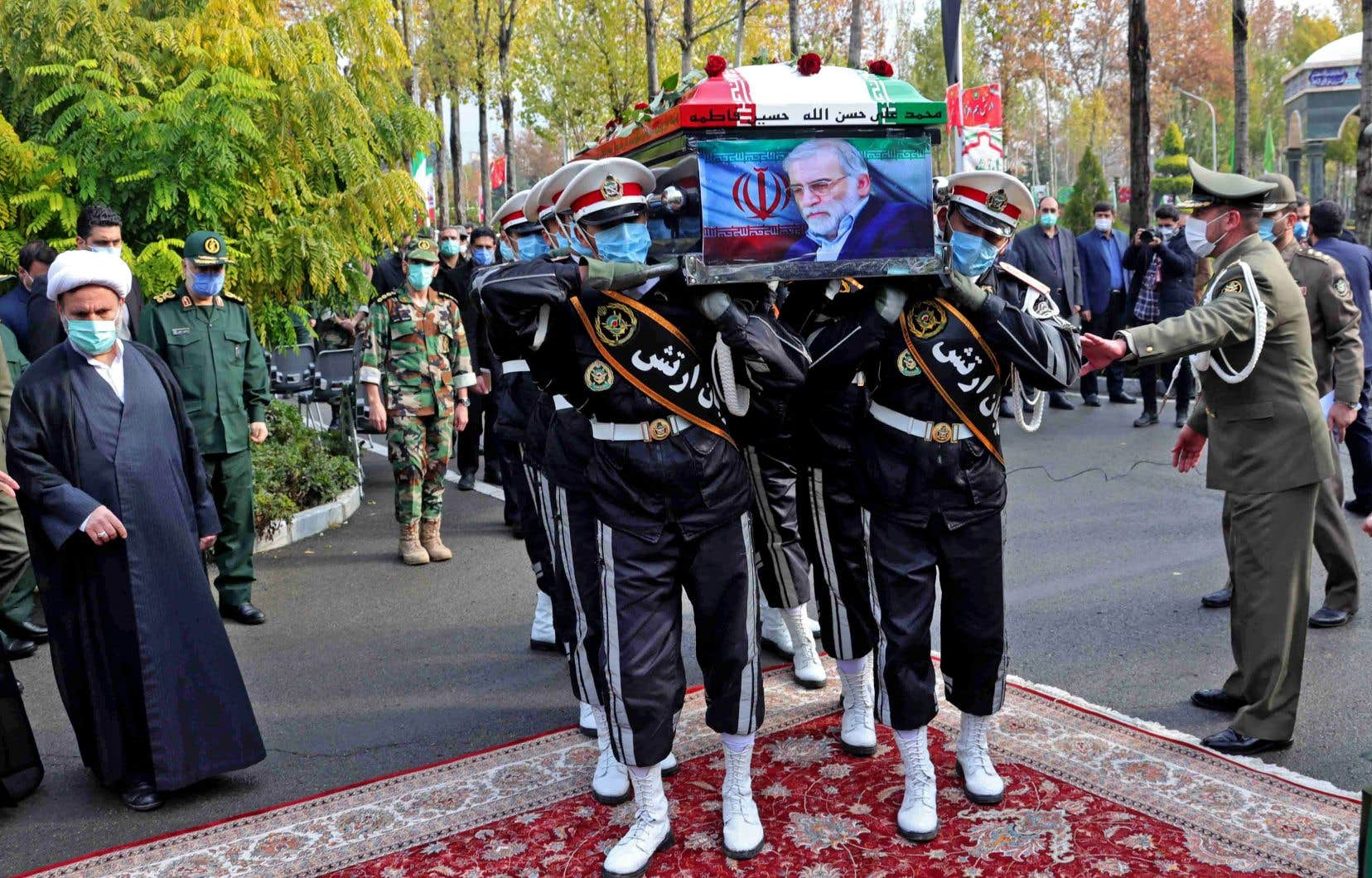 Avec un protocole digne des plus grands «martyrs» de la République islamique d'Iran, les autorités ont aussi rendu un dernier hommage à ce scientifique, Mohsen Fakhrizadeh, et promis de poursuivre son œuvre.