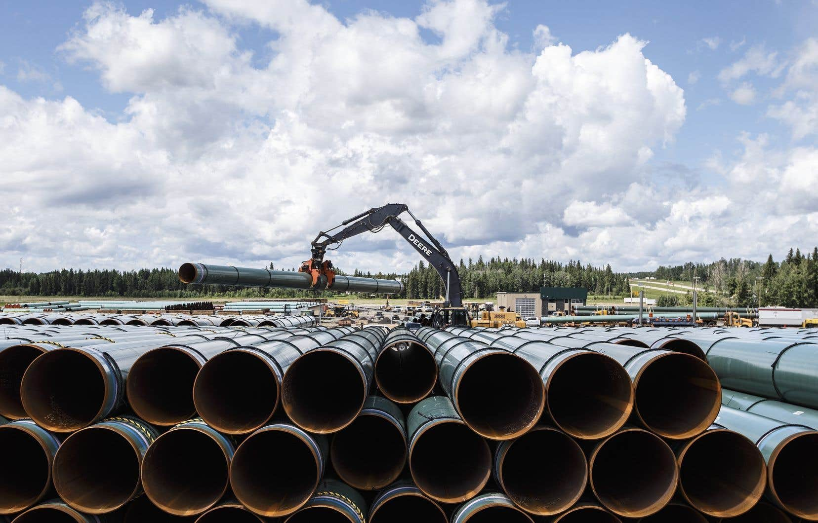 Le nouveau pipeline d'Enbridge permettra d'exporter davantage de pétrole des sables bitumineux.