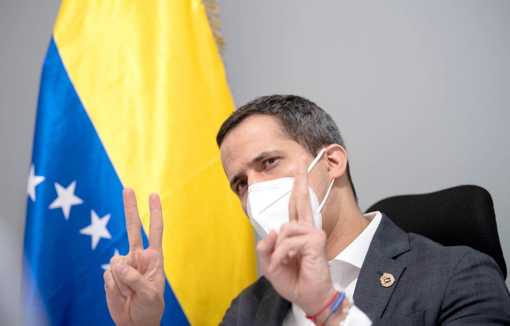 Pour Juan Guaidó, le scrutin du 6 décembre, organisé par le pouvoir en place, est une «fraude».