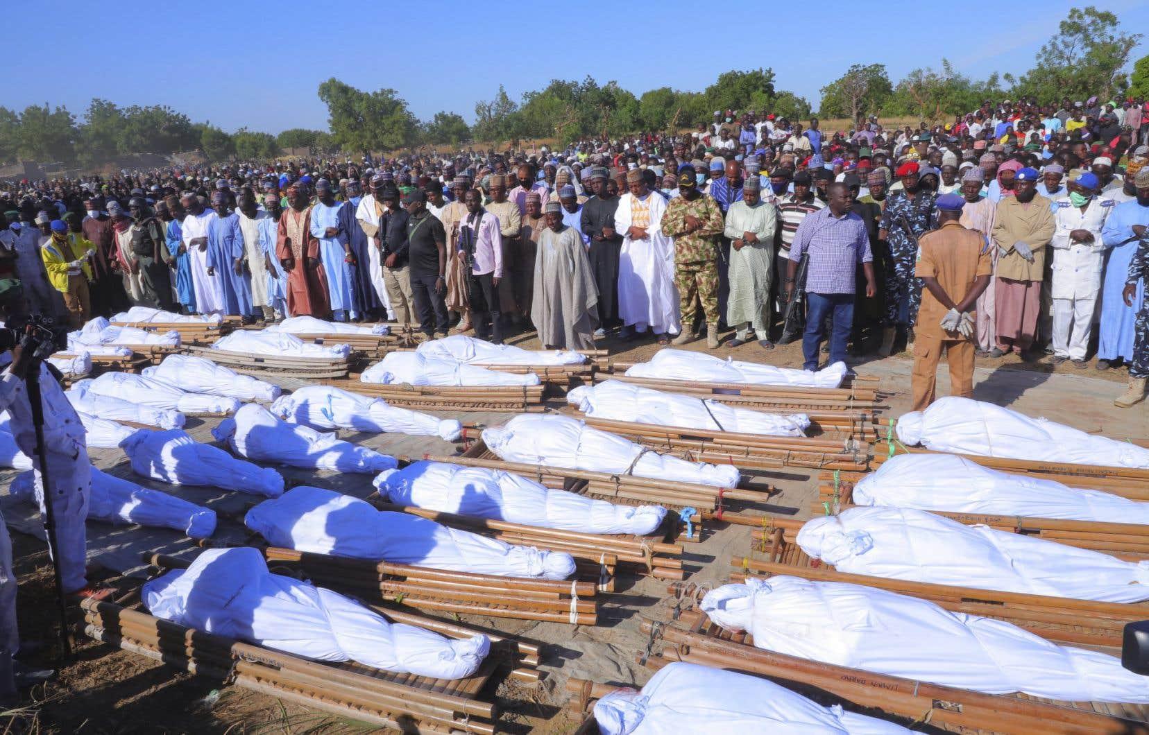 Le nord-est du Nigeria est en proie à l'insurrection du groupe Boko Haram depuis 2009.