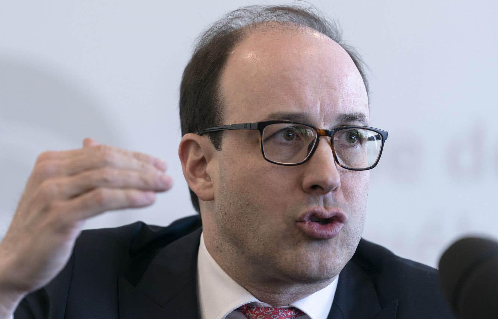 Charles Émond, le président et chef de la direction de la Caisse de dépôt et placement du Québec