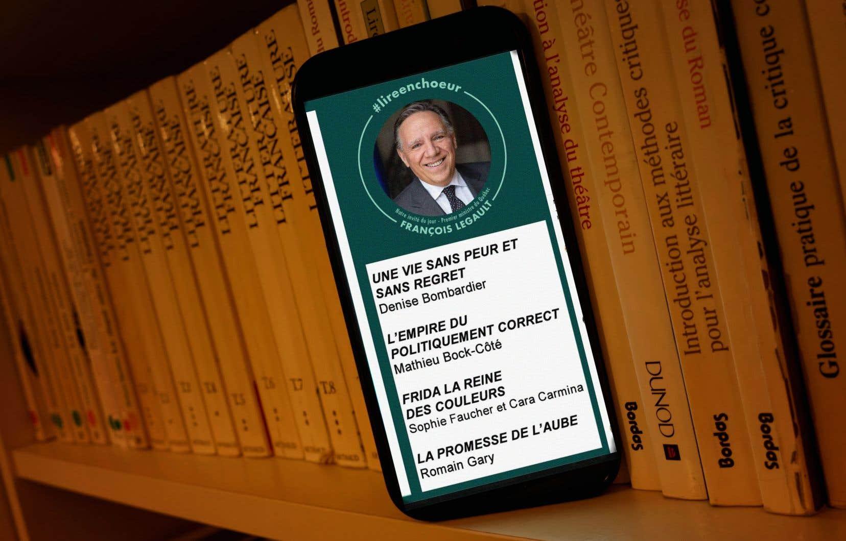 Une des recommandations de M.Legault — un essai du chroniqueur Mathieu Bock-Côté — a déplu à beaucoup.