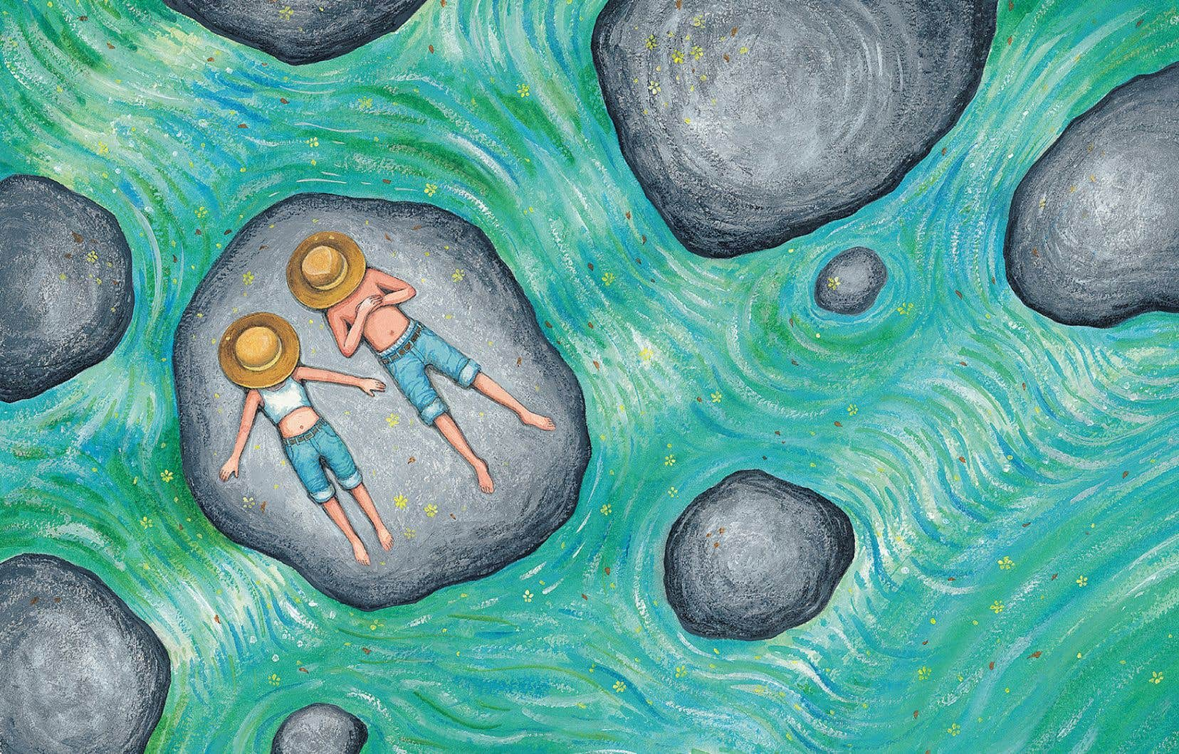 L'hommage à Van Gogh, déjà présent dans le titre «Une nuit étoilée», revient ici et là dans l'album et teinte le tout d'une aura chaleureuse.