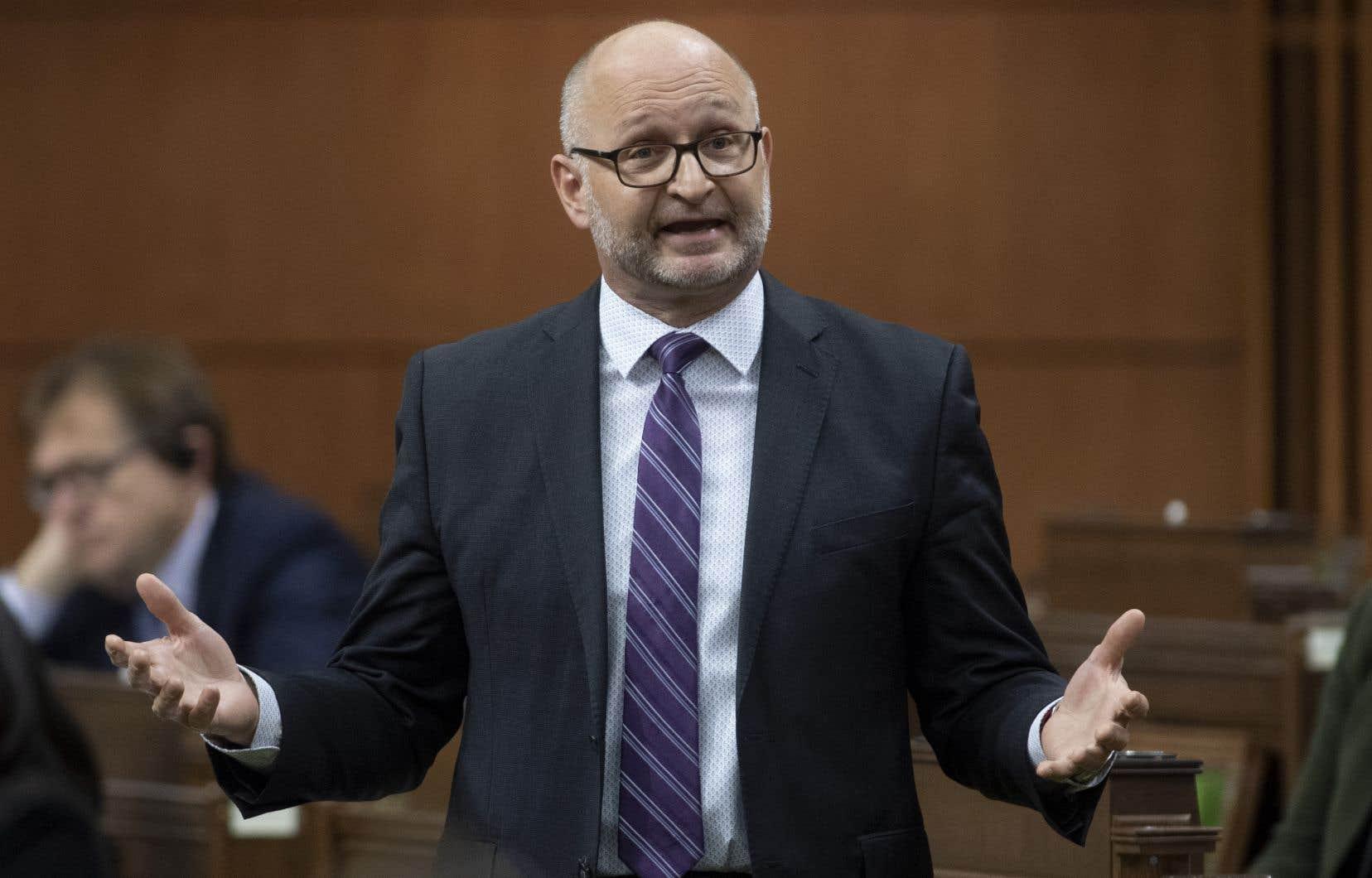 David Lametti,ministre de la Justice du Canada