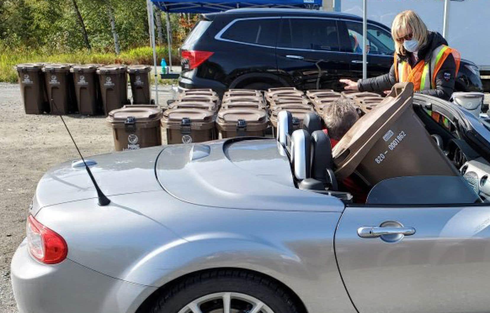 La MRC de La Vallée-de-l'Or estime que l'utilisation optimale du bac brun domestique pourrait réduire de 47% le poids des déchets de sa population.