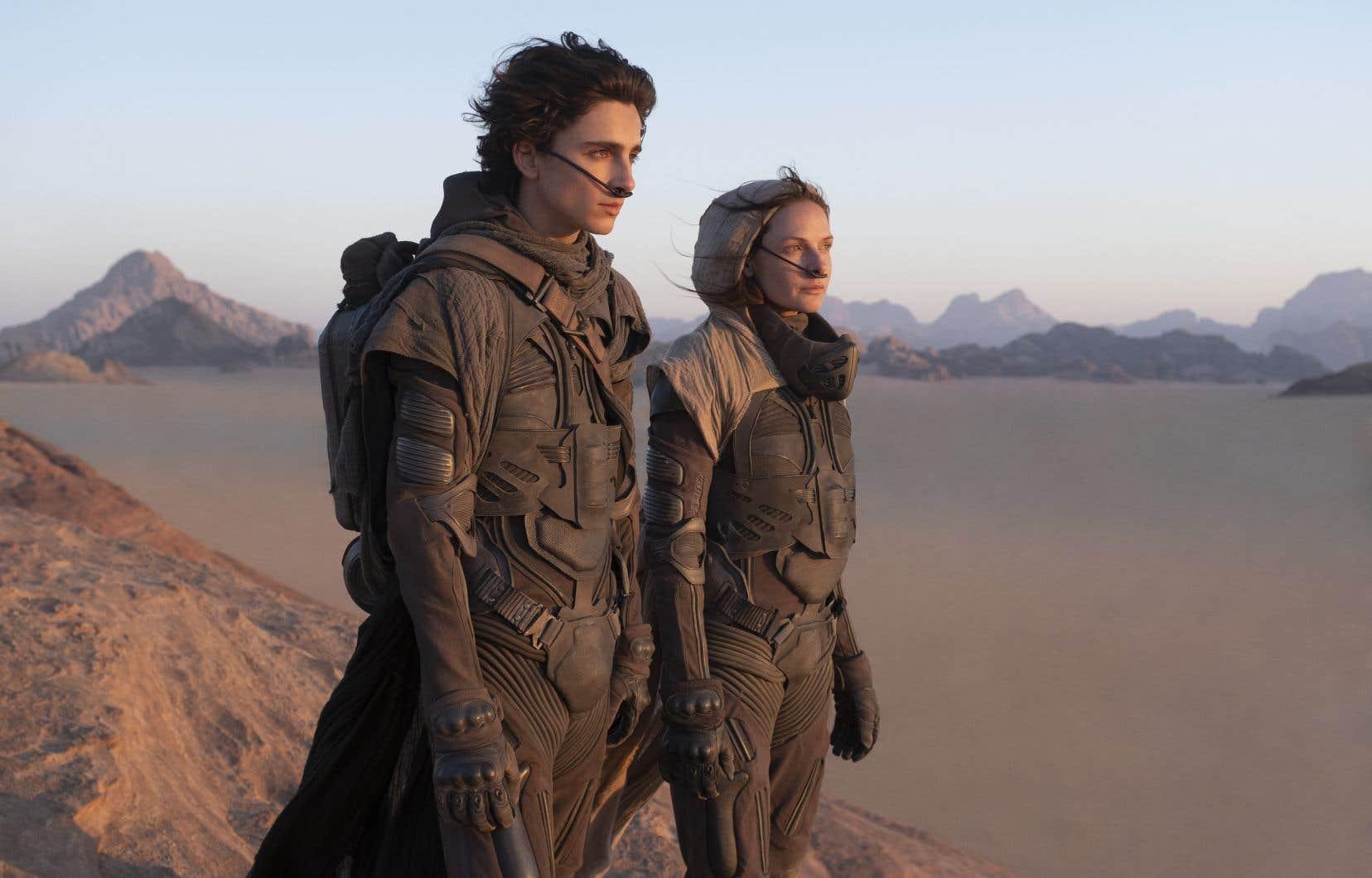 Capture d'écran du film «Dune»