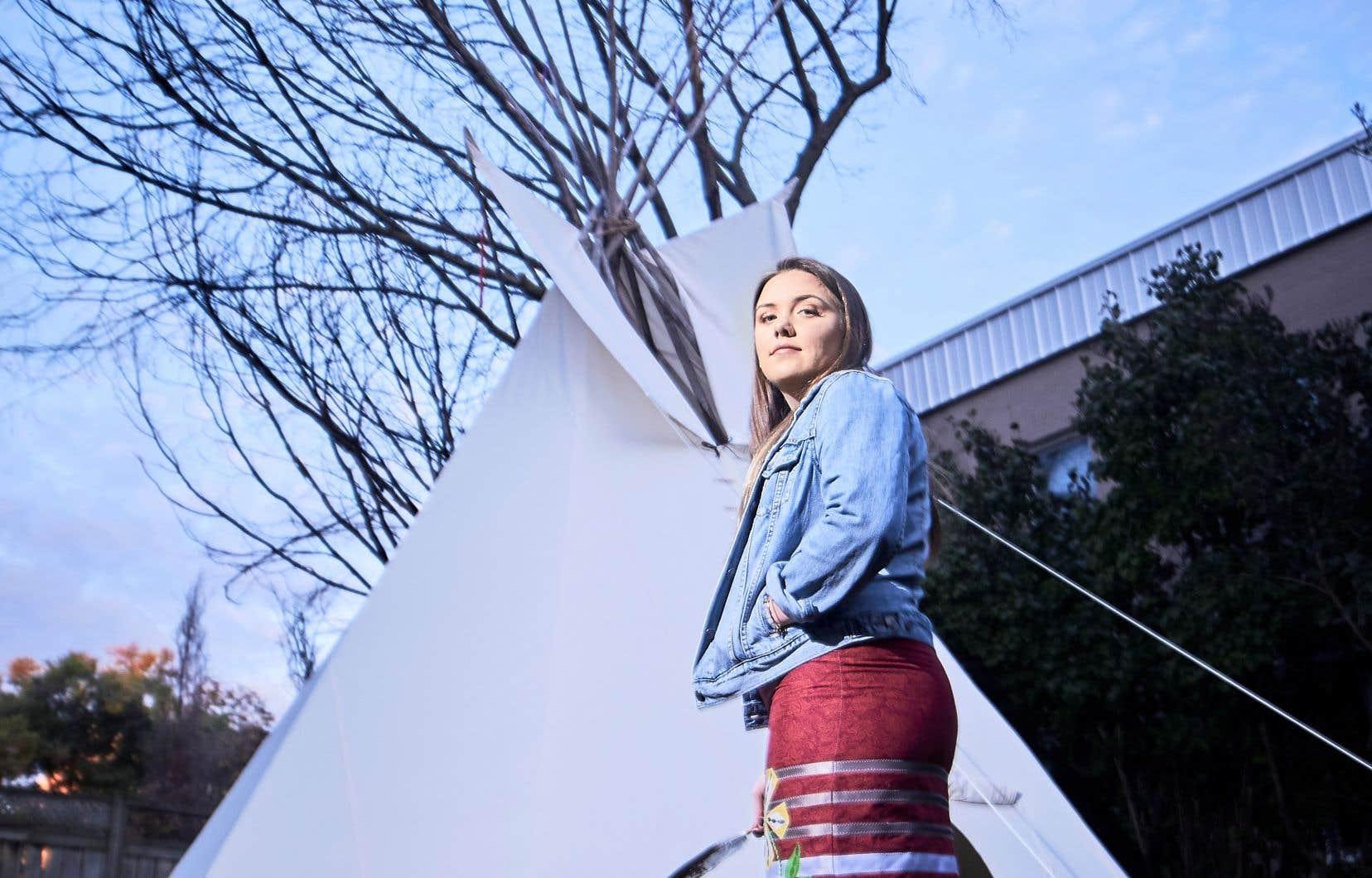 Brielle Chanae Thorsen, une fière Autochtone, a révélé jeudi avoir été agressée sexuellement sur le campus, deux jours avant le début des classes.