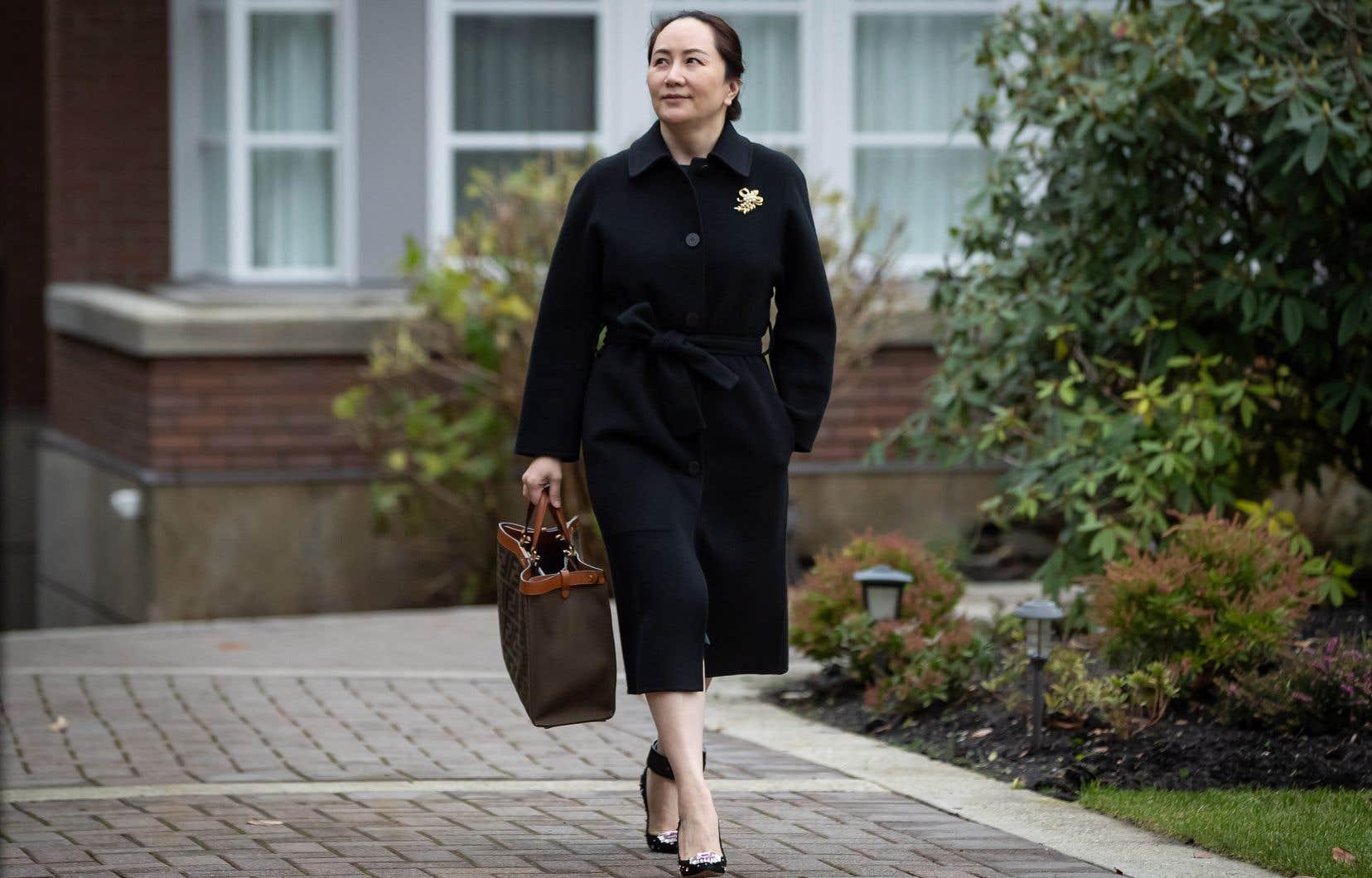 D'après le «Wall Street Journal», un accord permettrait à Meng Wanzhou de regagner la Chine.
