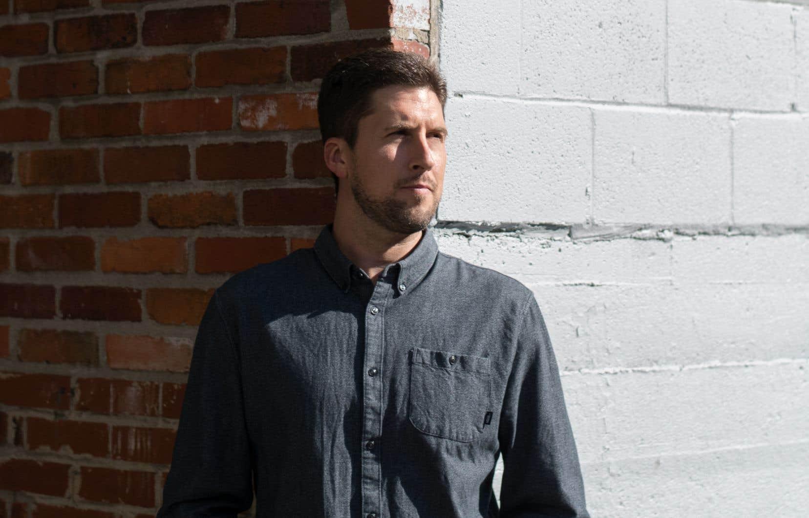 David Goudreault lance son quatrième album en carrière.