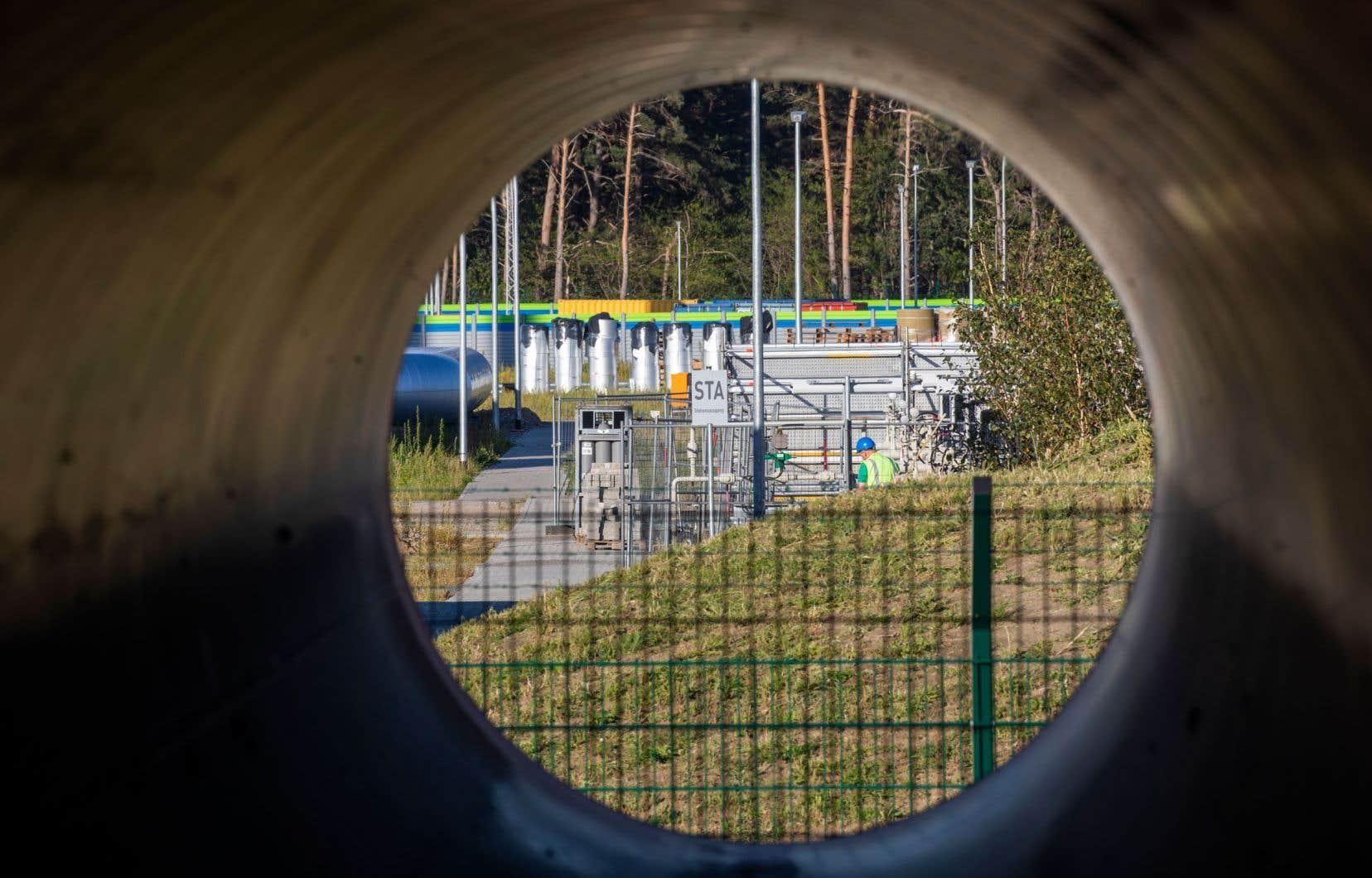 Le gazoduc Nord Stream 2de la compagnie russe Gazprom soutenu par d'importants groupes énergétiques européens est achevé à 95%.