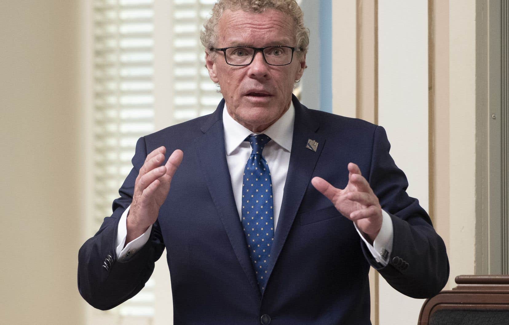 Jean Boulet a déposé mardi le projet de loi 78, qui obligera les chefs d'entreprises à rendre davantage de comptes au registraire des entreprises.