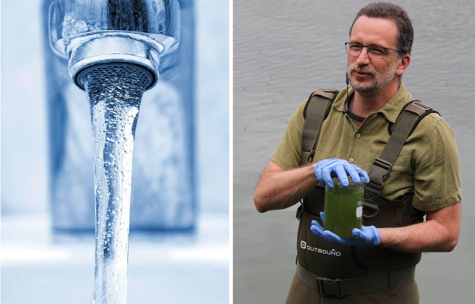 Grâce à Sébastien Sauvé, la quantité inquiétante de plomb dans l'eau potable de certaines écoles du Québec a provoqué une vague médiatique à l'automne 2019.
