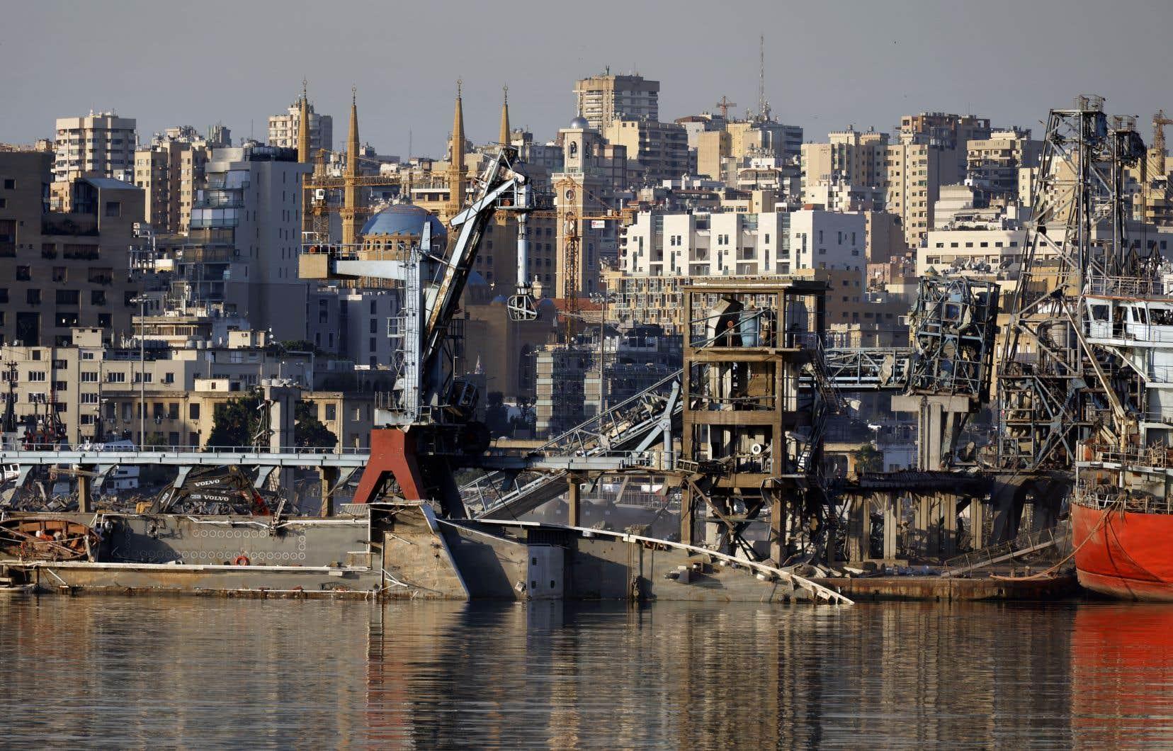 <p>L'explosion du 4août a fait plus de 200 morts et 6500 blessés et détruit le port et des quartiers de la capitale.</p>