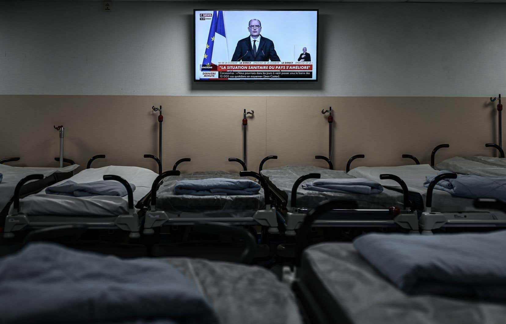 Le premier ministre français, Jean Castex