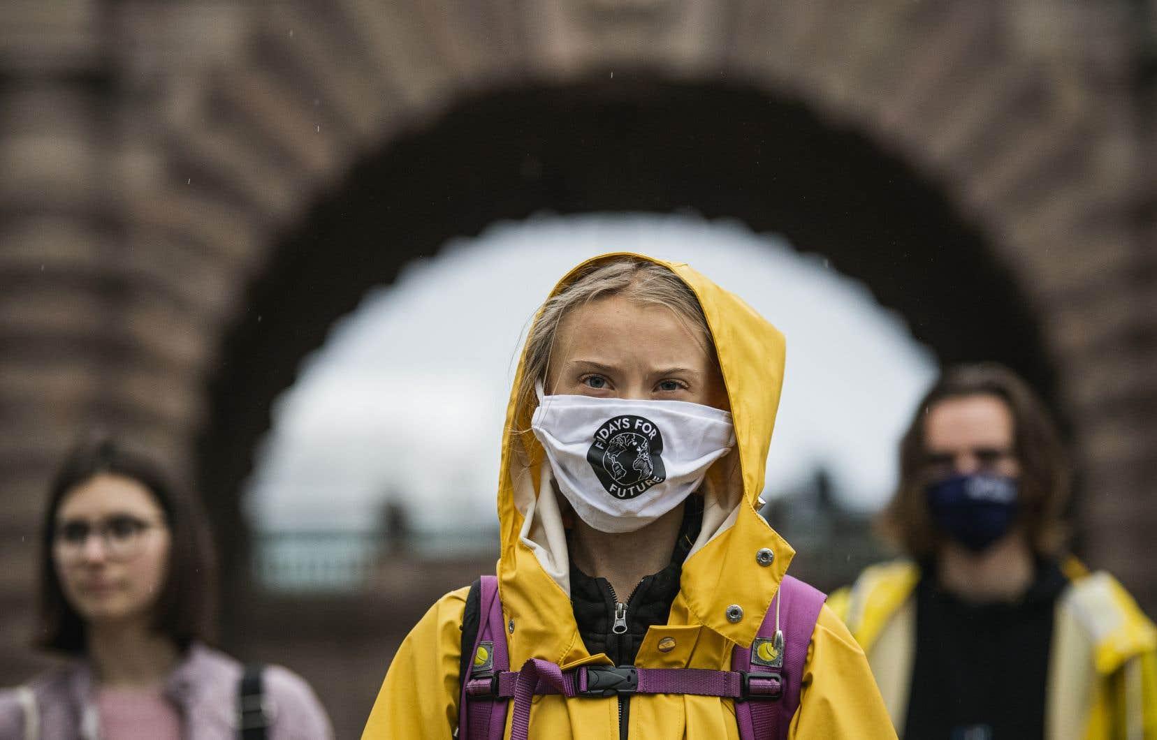 «Nous fonçons toujours dans la mauvaise direction», se désole Greta Thunberg.
