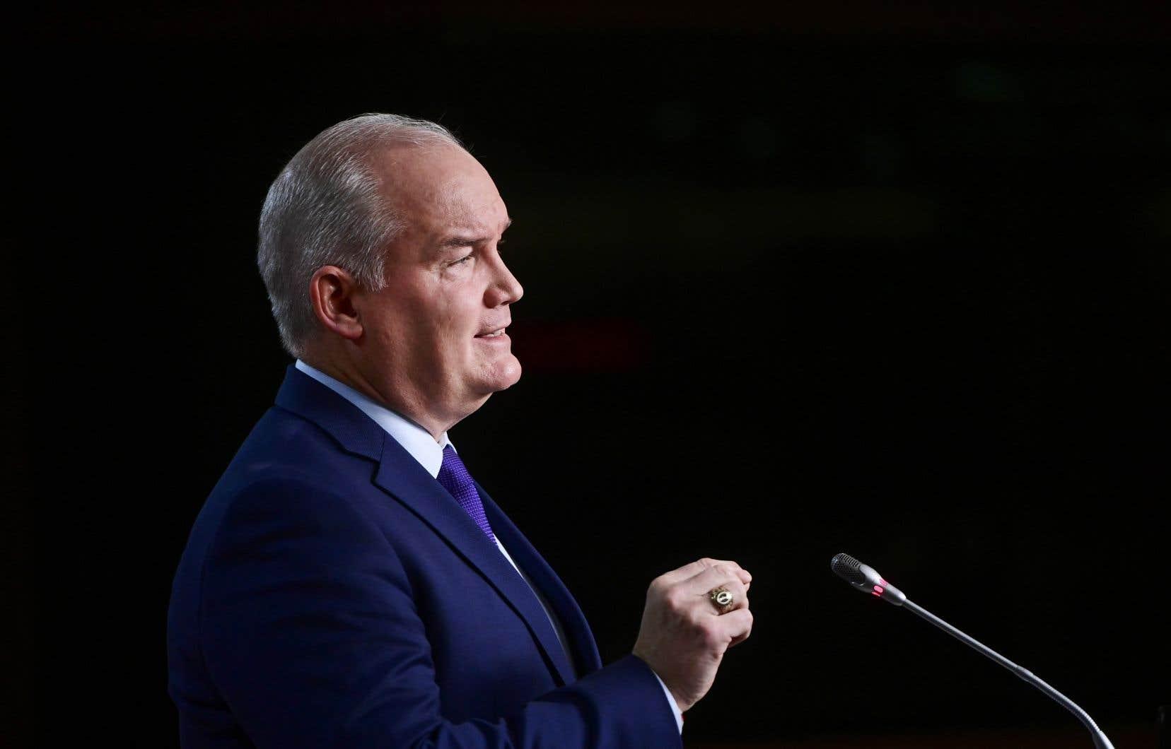 Selon Erin O'Toole, Ottawa fait une erreur en voulant accroître le nombre d'immigrants reçus au cours des prochaines années.
