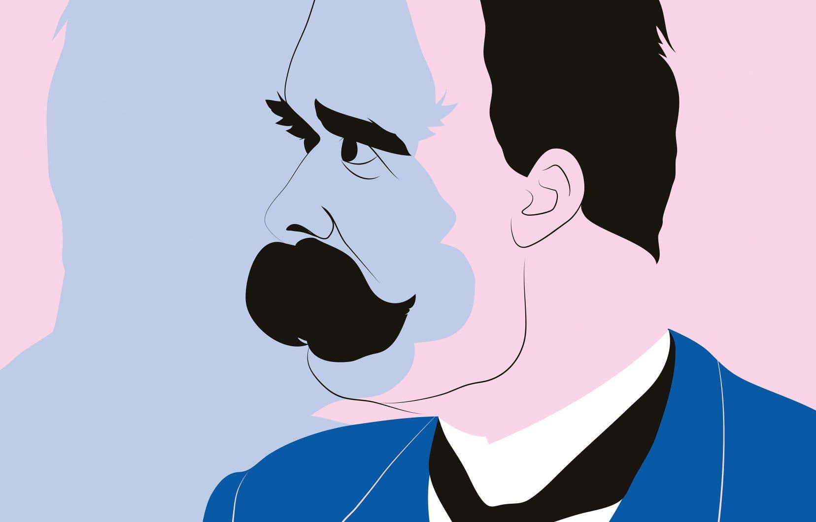 Nietzsche déploie une forte critique de notre civilisation: elle repose sur du vide plus que sur de la plénitude.