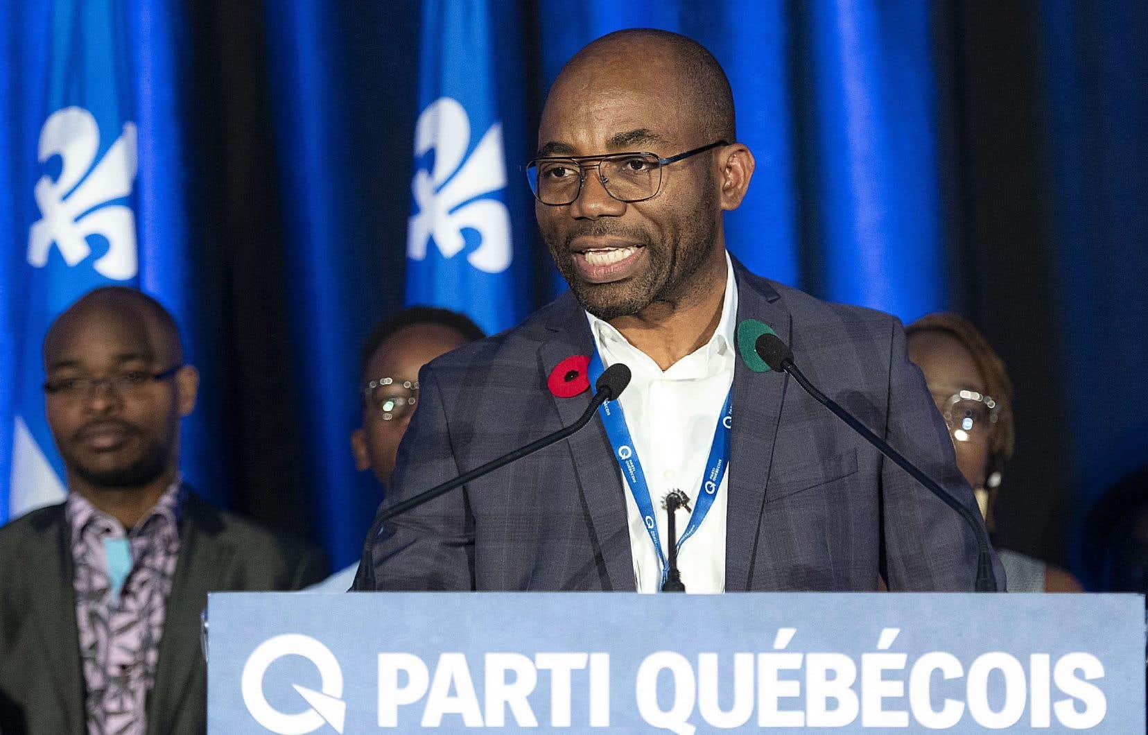 Dieudonné Ella Oyono a remporté sans opposition la course à la présidence du Parti québécois en novembre 2019. «La politique, je n'ose pas le dire, mais j'ai ça dans le sang», confie-t-il.